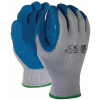 TruForce G10CPLS Latex Coated Gloves, SM