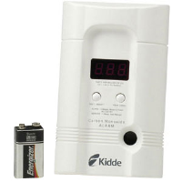 Kidde 900-0100 Carbon Monoxide Alarm w/ Battery Backup