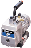 Mastercool 90066 5 CFM Two Stage Vacuum Pump