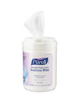 Gojo 9031-06 Purell® Alcohol Formulation Sanitizing Wipes, 6/Cs.