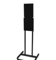 Total Solutions 9128 Center-pull Dispenser Stand