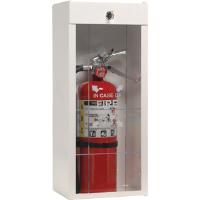 JL Industries 916LS Surface Mount Extinguisher Cabinet, 2/Box