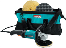 "Makita 9227CX3 7"" Variable Speed Polisher Kit"