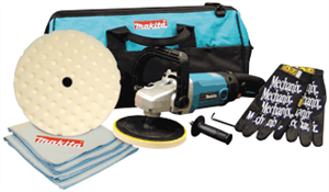 "Makita 9227CX5 7"" Variable Speed Polisher Kit"