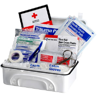 First Aid Only 9300-10P 91-Pc.,10-Person Contractor Kit (Plastic)