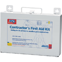 First Aid Only 9302-25M 176-Piece, 25-Person Contractor Kit, (Metal)