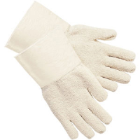 MCR Safety 9400G Heavy Weight Terry Cloth Gloves w/Gauntlet Cuff,(Dz.)