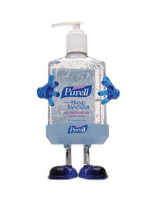 Gojo 9600-PL1 Purell® Pal Desktop Instant Hand Sanitizer, 12 Oz, 12/Cs.