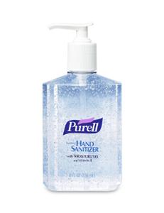 Gojo 9652-12 Purell® Instant Hand Sanitizer, 8 Oz. Pump, 12/Cs.