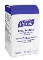 Gojo 9657-12 Purell® Hand Sanitizer Refill, 800ml, 12/Cs.