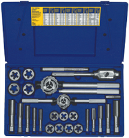 Irwin 97094 25 Pc. Fractional Tap & Hex Die Set