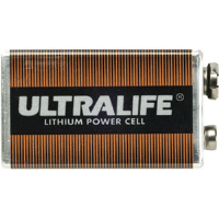 UltraLife 9 Volt Lithium Battery, 12 Pack