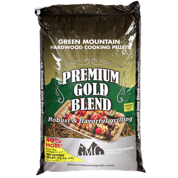 Green Mountain Grills Premium Gold Blend Cooking Pellets