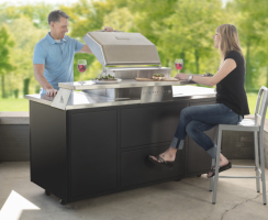 Memphis Elite Outdoor Kitchen Bar Top for Sale Online from an Authorized Memphis Grill Dealer