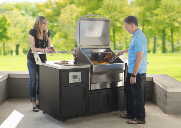 memphis grills outdoor kitchen with elite grill american parts