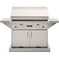 TEC Infrared Grills Patio 44 Inch Grill on Stainless Cabinet - Natural Gas