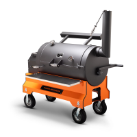 Yoder YS1500 Orange Competition Cart Pellet Grill for Sale Online |  Order Today