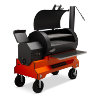 Yoder YS1500s Orange Competition Cart Pellet Grill for Sale Online |  Order Today