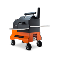 Yoder YS480 Orange Competition Cart Pellet Grill for Sale Online |  Order Today