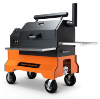 Yoder YS640 Orange Competition Cart Pellet Grill for Sale Online |  Order Today