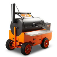 Yoder Cimarron Orange Competition Cart Pellet Grill for Sale Online |  Order Today