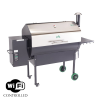 Save $100 on GMG Jim Bowie Wifi Stainless Steel Grill - Order Today