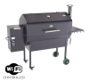 Save $100 on Green Mountain Jim Bowie Black Wifi Grill Sale - Order Today