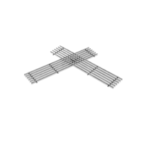 Memphis Grill Upper Smoke Rack | Small Grill Grates for Memphis Pro Grills