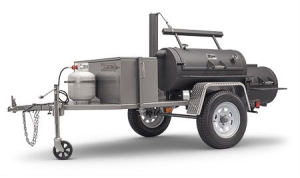 Yoder Santa Fe Trailer Mounted Smoker Grill for Sale Online | Order Today
