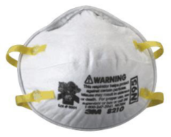 3M 07048 N95 Particulate Respirator, 20 Ct.