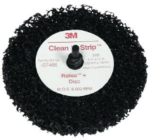 3M 07466 Roloc Scotch-Brite Clean & Strip Discs, 10 Ct.