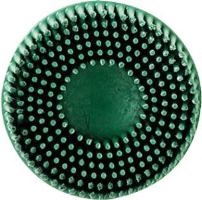"3M 07524 2"" Coarse Roloc Bristle Discs, 10 Ct."