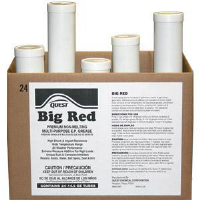 Quest Chemical L10317 BIG RED Premium Non-Melt Red Grease, 14.5oz,48/Cs.