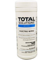 "Total Solutions 1449 Electro Wipes, 6 x 8"" 30 Ct., 6/Cs."