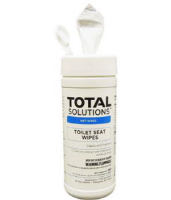 "Total Solutions 1500 Toilet Seat Wipes, 6 x 6"" 160 Ct., 6/Cs."