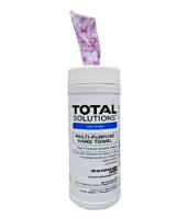 "Total Solutions 1539 Multi-Purpose Hand Towels, 9.5"" X 12"" 70 Ct. 6/Cs"