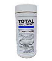 "Total Solutions 1541 Fly Away Wipes, 6"" X 8"", 6/CS"