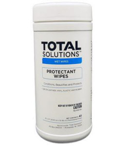 "Total Solutions 1545 Protectant Wipes, 10"" X 12"", 6/Cs"