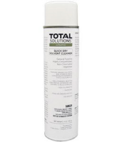 Total Solutions 8384 Quick Dry Solvent Cleaner, 20 oz can, 14 net wt. 12/Cs
