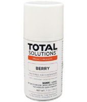 Total Solutions 8424 Berry Metered Air Freshener, 12 oz cans, 6.75 oz net wt. 12/Cs