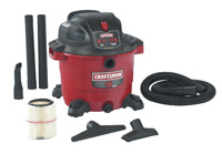 Craftsman  9-17761 16 Gal. Wet/Dry Vacuum, 6.0 Peak HP