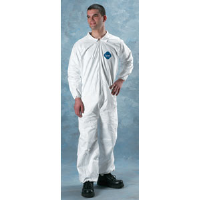 Lakeland 01417 Tyvek Coverall - Zip, Elast. Wrist/Ankle, 25/Cs. 3XL