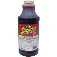 Sqwincher 020221 32 oz Liquid Concentrate, Cherry,12/Cs.