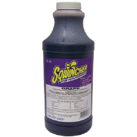 Sqwincher 020222 32 oz Liquid Concentrate, Grape,12/Cs.