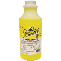 Sqwincher 020223 32 oz Liquid Concentrate, Lemonade,12/Cs.