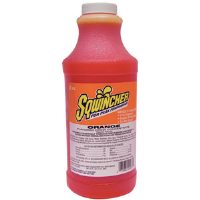 Sqwincher 020226 32 oz Liquid Concentrate, Orange,12/Cs.