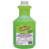 Sqwincher 030328 64 oz Liquid Concentrate, Lemon-Lime,6/Cs.