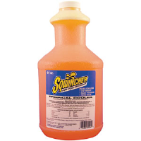Sqwincher 030329 64 oz Liquid Concentrate, Tropical Cooler,6/Cs.
