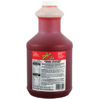 Sqwincher 050102 64 oz Lite Liquid Concentrate, Fruit Punch,6/Cs.