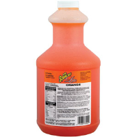 Sqwincher 050107 64 oz Lite Liquid Concentrate, Orange,6/Cs.